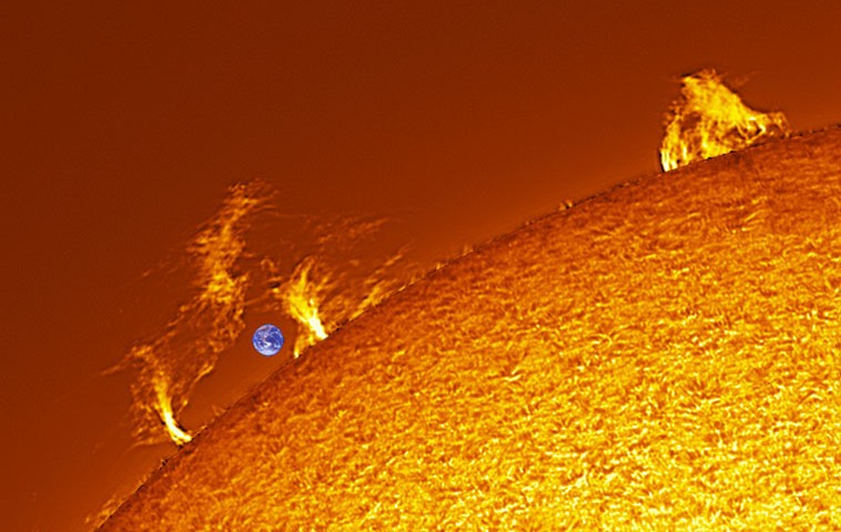 خورشید بزرگترین ستاره منظومه شمسی