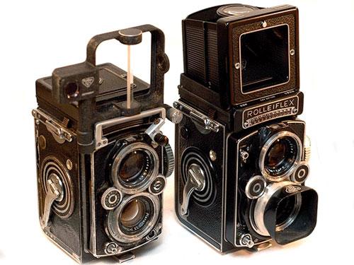 دوربین رفلکسی دو عدسی