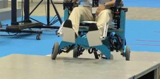 ویدئو: روبات ویلچر از موانع عبور می کند