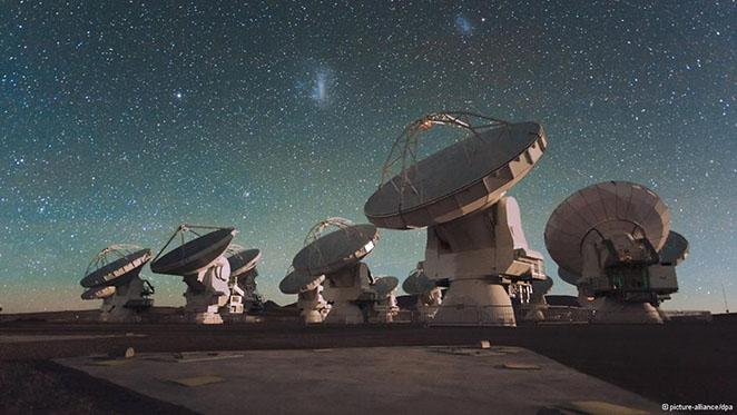 بزرگترین رادیو تلسکوپ جهان آلما