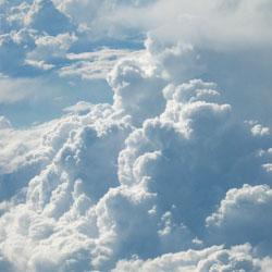 چرا ابر های باران زا تیره رنگ هستند؟